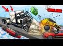 Coffi Channel САМАЯ ОПАСНАЯ ГОНКА СТЕНКА НА СТЕНКУ! 100 ГРУЗОВИКОВ VS 100 ПЛОСКИХ МАШИН В GTA 5 ONLINE
