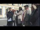 Оксана Набатчикова на митинге в защиту памятников и исторических мест Оренбурга 19.04.2019