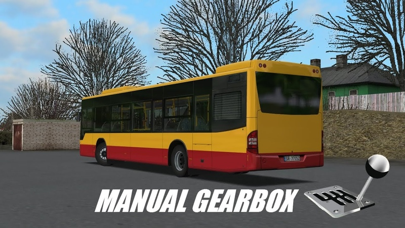 OMSI 2 Mercedes Benz Conecto LF Citybus 628 Manual Gearbox