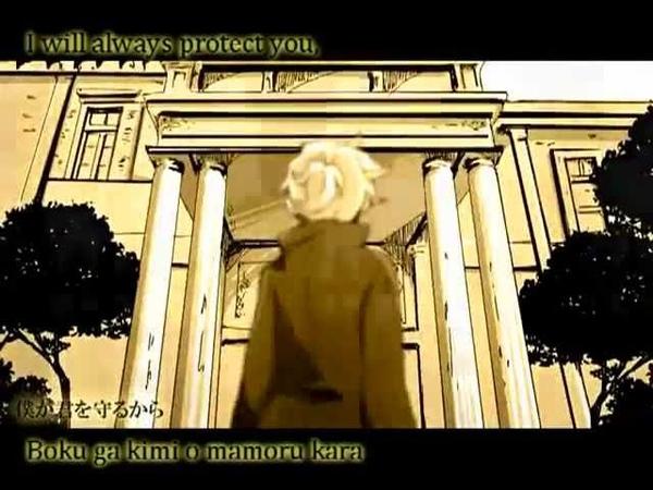 Kagamine Len and Rin - Servant of Evil ~Classical Version~ [Anime PV] EnglishRomaji Subs