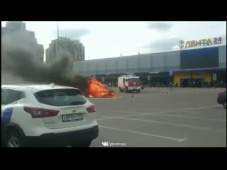 Спас детей из горящей машины