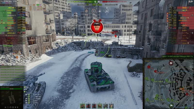 World of Tanks.КВ 2.Мастер.