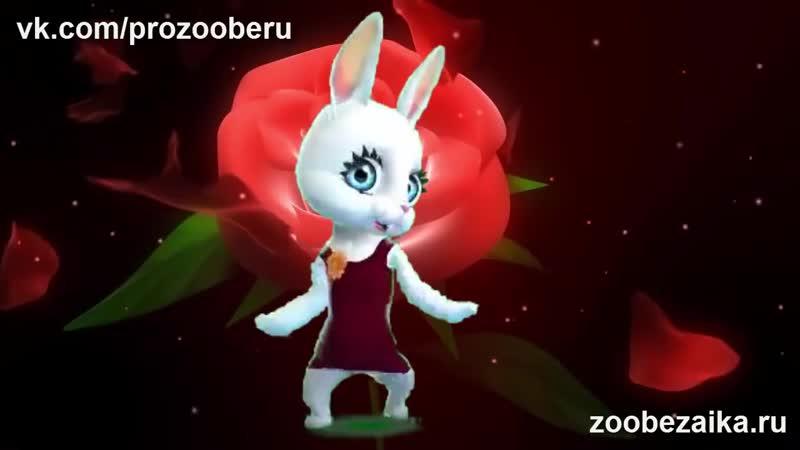 V С Днём Рождения Музыкальное поздравление с именинами от ZOOBE Муз Зайка