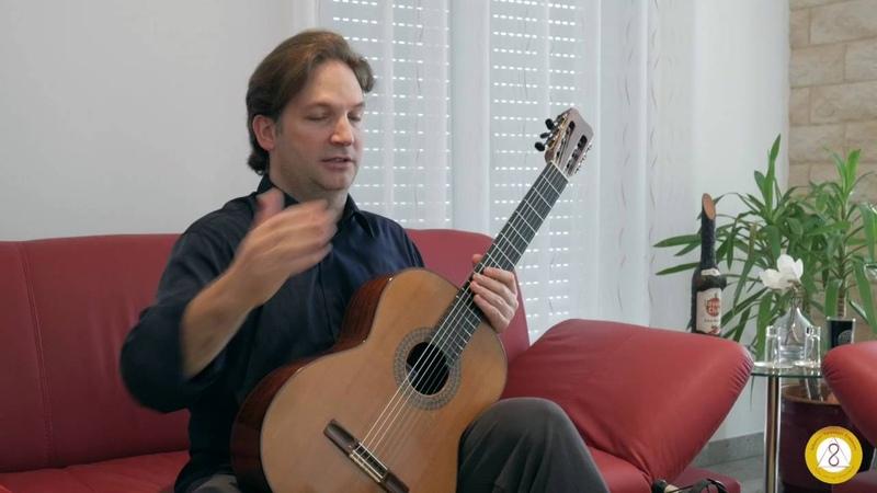 Marco Tamayo talks apoyando vs tirando in J. S. Bach