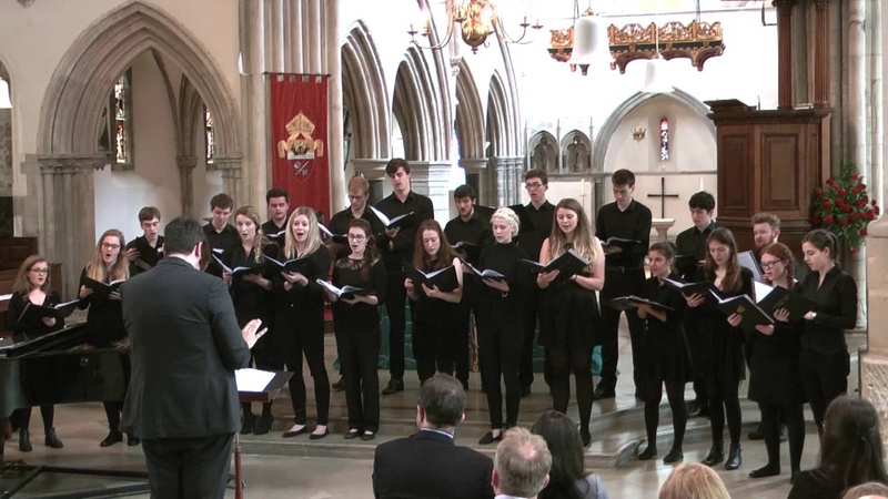 Southampton University Chamber Choir - Over the Rainbow - Arlen and Harburg arr. Turner
