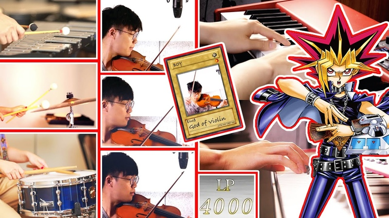 REMAKE TOP 3 BGM from Yu-Gi-Oh! - Piano Violin Percussions|SLSMusic