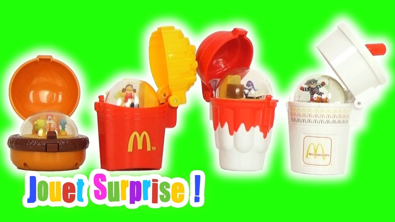 Jouets Menu McDonald's Toys Happy Meal 1996 JOUET SURPRISE