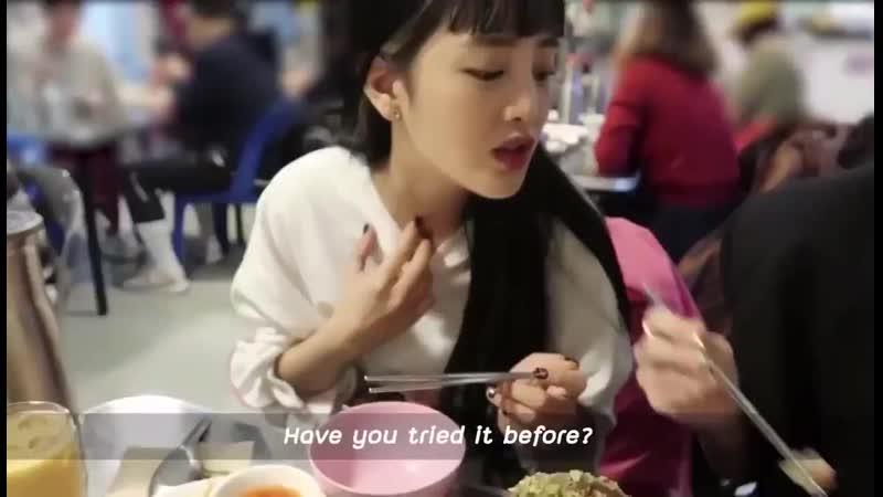 Lisa on CLC's Sorn vlog