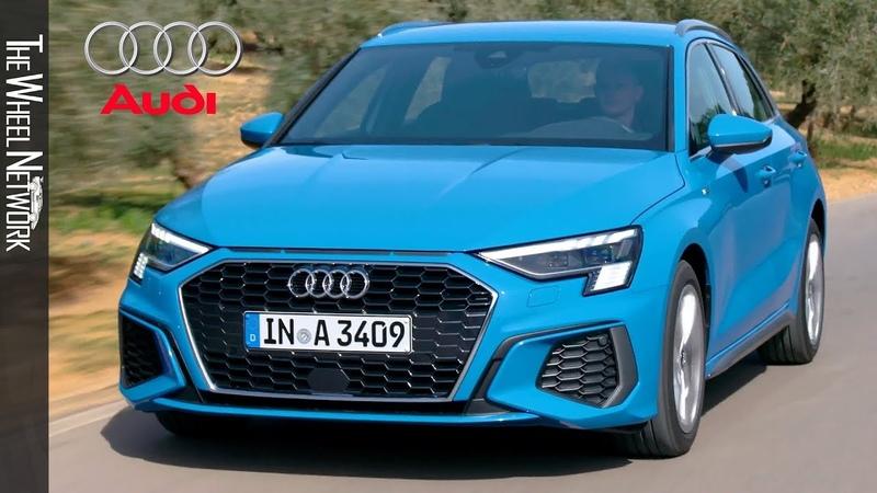 2021 Audi A3 Sportback 30 TDI S Line Turbo Blue Driving Interior Exterior