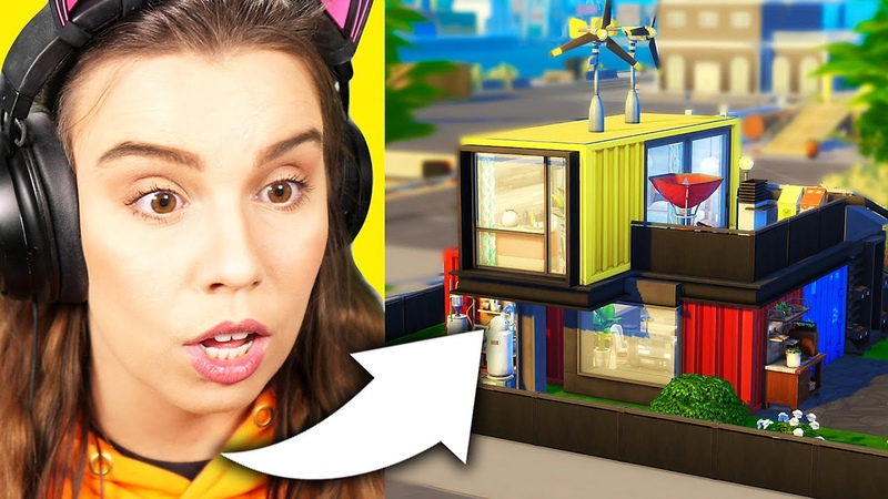 Amazing build never attempted before in The Sims 4 Eco Lifestyle