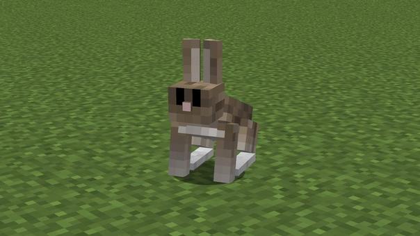 майнкрафт кролики #3