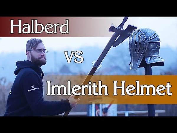 Алебарда и шлем Имлериха. Это не сериал Ведьмак!