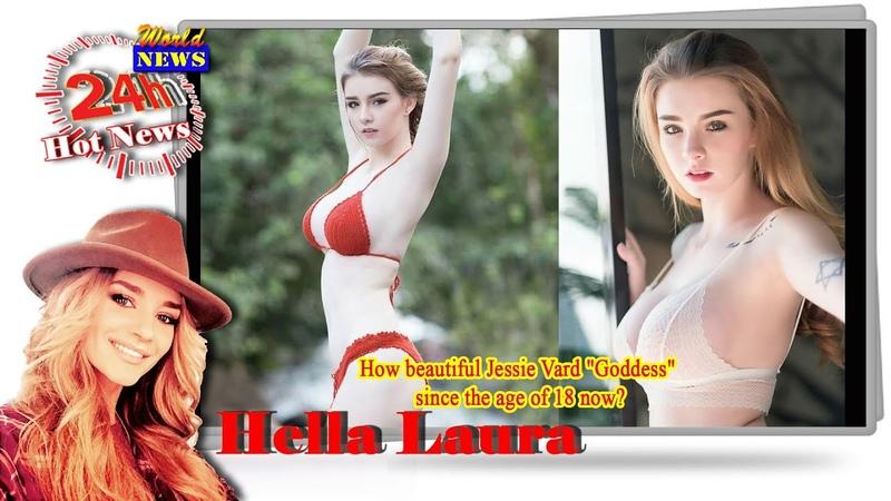 How beautiful Jessie Vard Goddess Thai-Irish Model since the age of 18 now