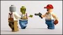 Набор для выживания в зомби-апокалипсисе / Lego Zombie defender pack Brickarms