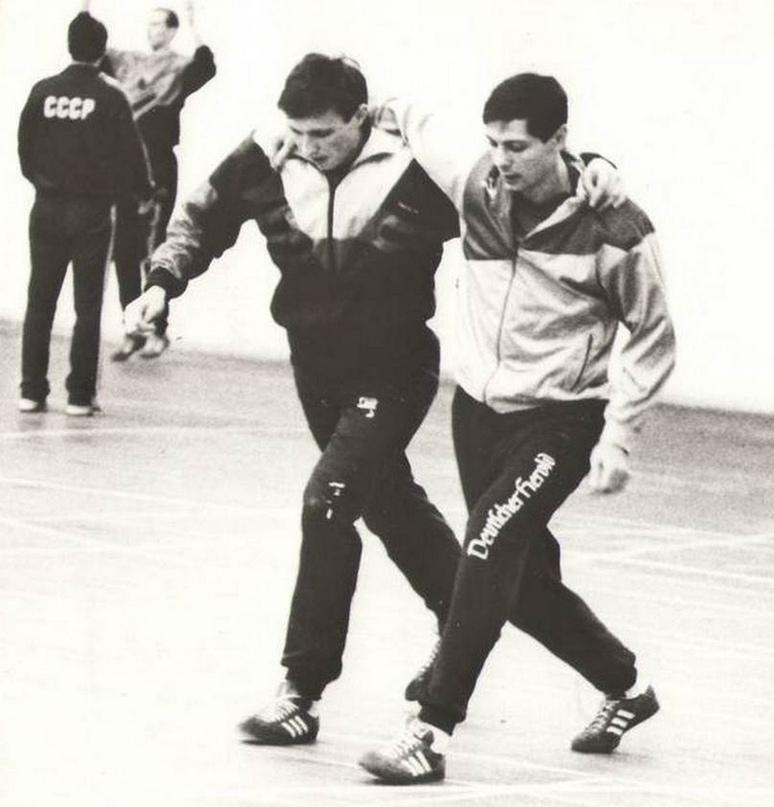 Валерий Гопин и Андрей Тюменцев