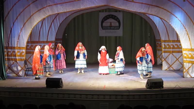 Етеган йондоз конкурс фестивале 23 11 19г Йэнбика фольклор ансамбле Балбык ауылы