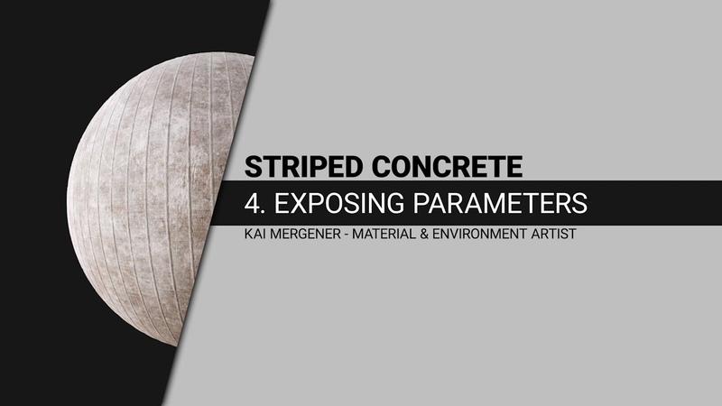 Tutorial Substance Designer to Substance Painter Exposing parameters Part 4 GER