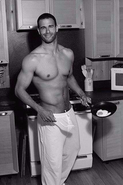 Если бы так меня встречали по утрам на кухне