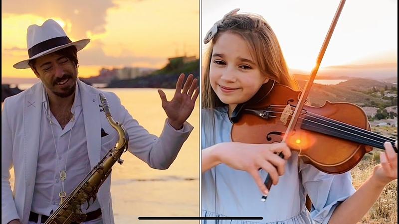 Hallelujah - Violin and Sax Cover - Karolina Protsenko Daniele Vitale