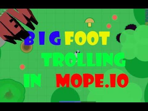 BIGFOOT TROLLING TROLLING IN MOPE.IO