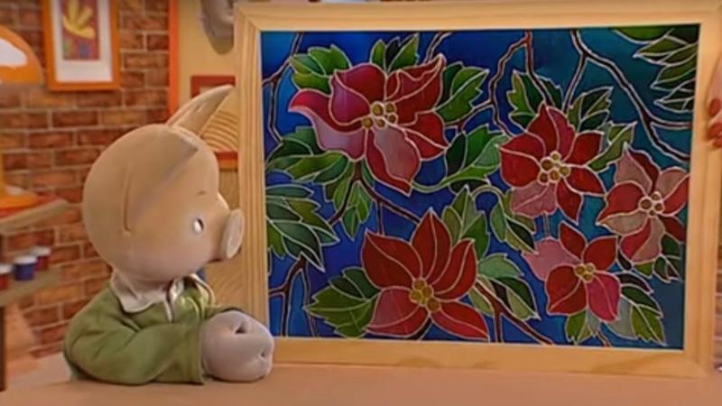 История искусств вместе с Хрюшей Витражи Детская передача про искусство