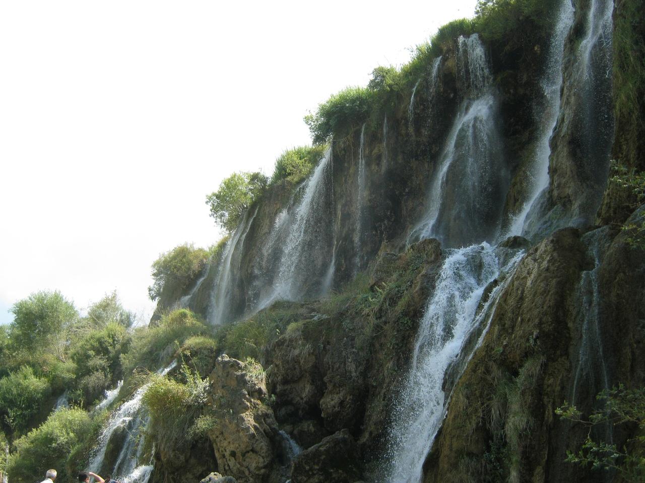 уровни водопада Гирлевик