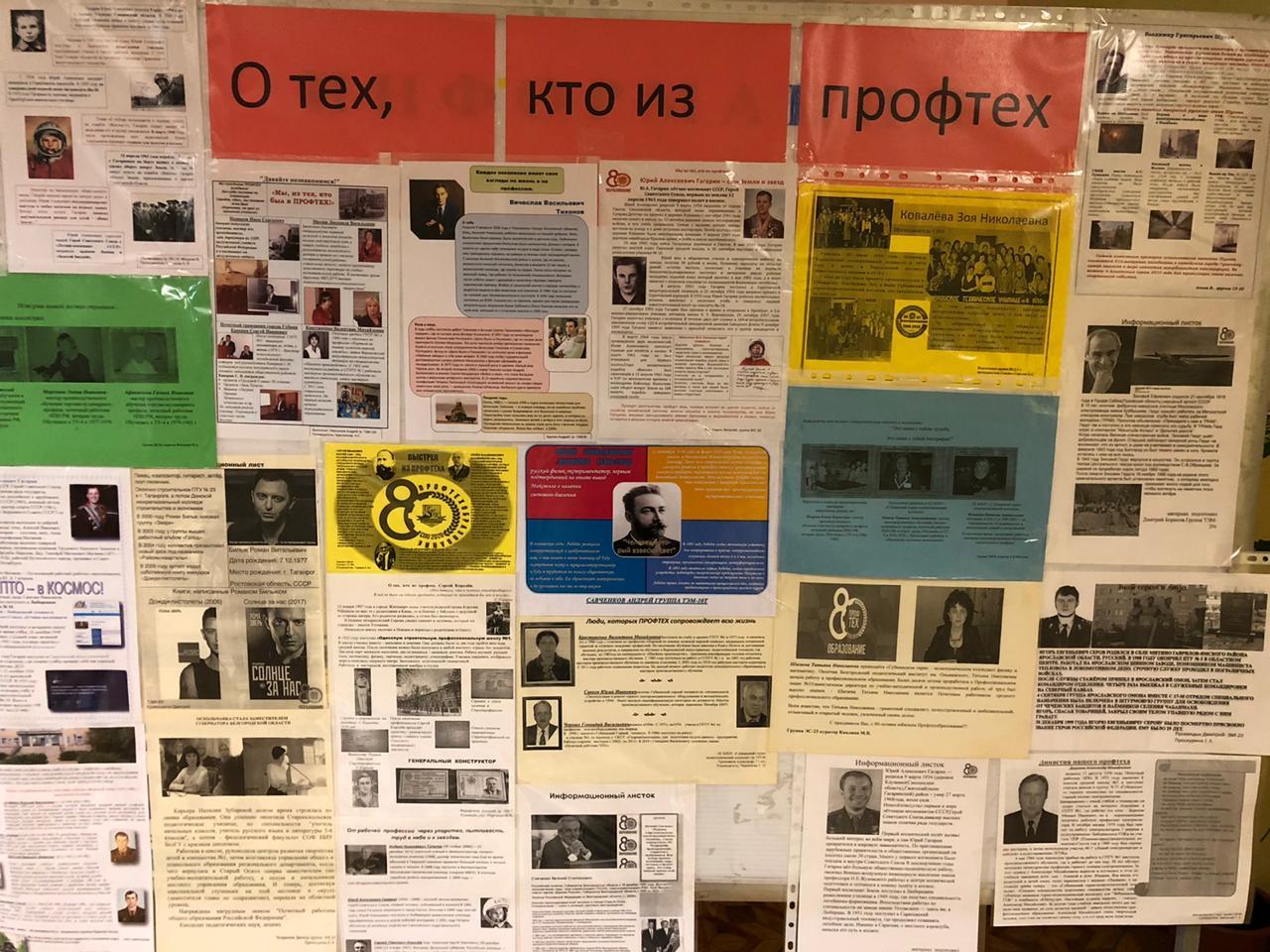 мероприятия посвященные 80-летию ПТО