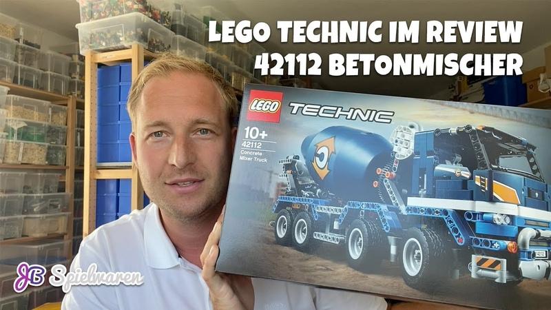 Die Mischung macht's Diesmal LEGO Technic bei uns im Review mit dem 42112 Betonmischer LKW
