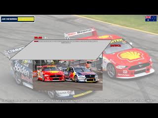 Virgin Australia Supercars Championship: NTI Townsville SuperSprint, Гонка 2,  [A21 Network]