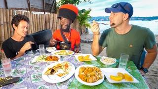 Jamaica Street Food 🇯🇲+ Market Tour with  Kitchen in Port Antonio, Jamaica!