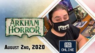 GenCon Online 2020: Arkham Horror 3rd Edition: Under Dark Wings Expansion Gameplay