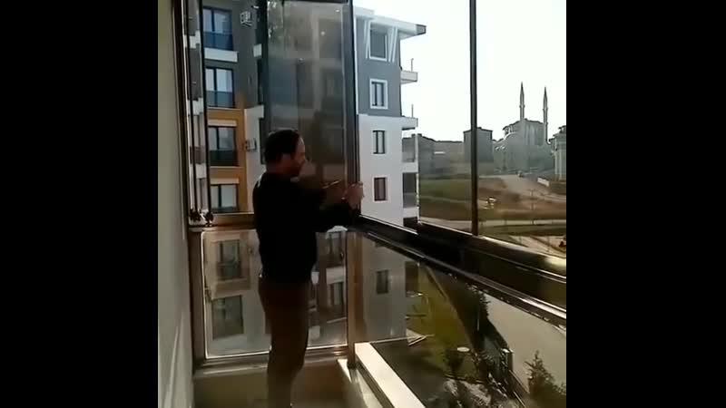 Отличная идея для балкона Евроремонт
