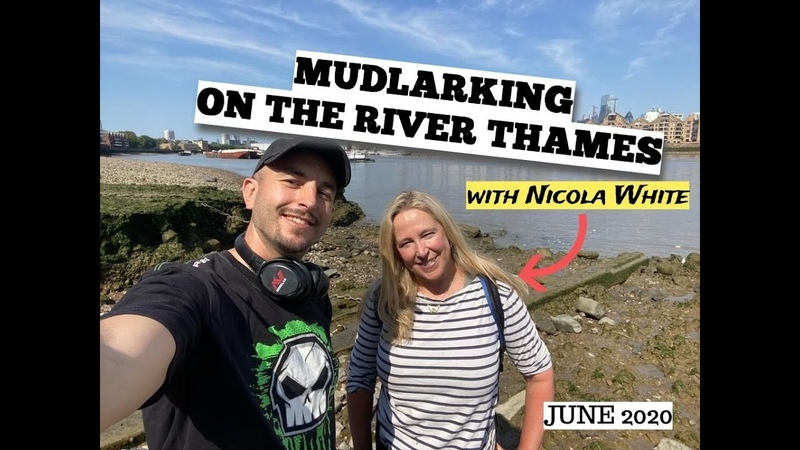 Mudlarking the River Thames with Nicola White - and the story of my special gold and diamond ring!