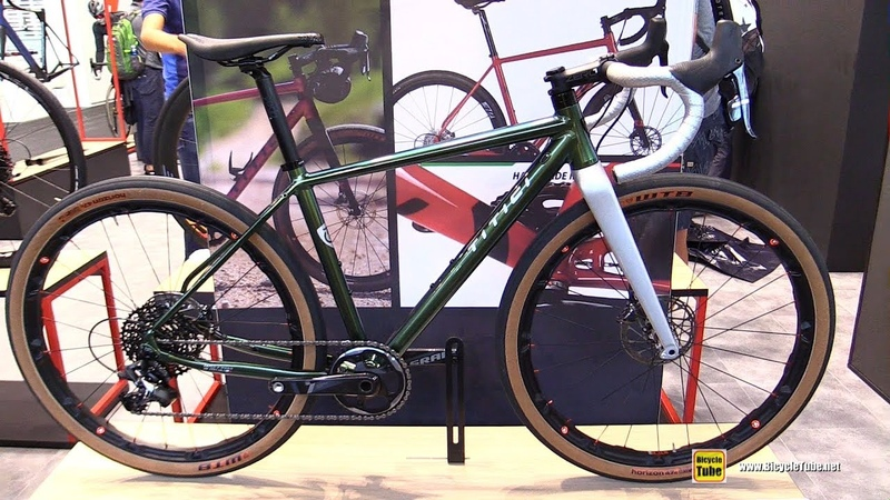 2020 Titici Alloy A GR01 Gravel Bike Walkaround 2019 Eurobike
