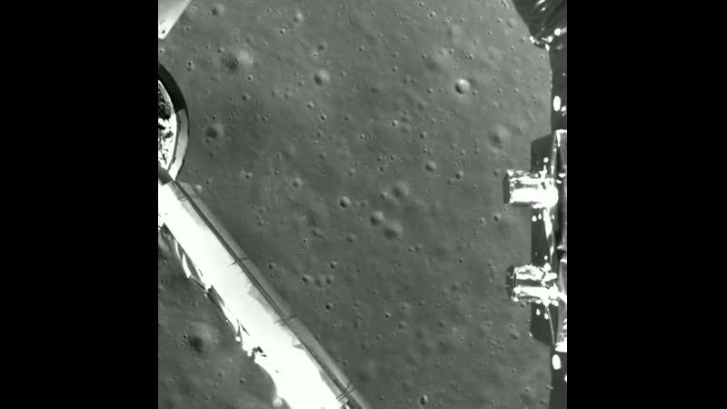 Посадка китайской межпланетной станции Чанъэ 4 на обратной стороне Луны видео ускорено