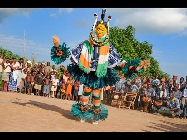 Zahouli folklore gouro Cote d'Ivoire