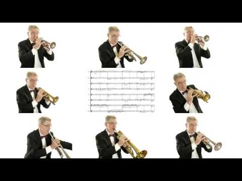 Mendelssohn Octet for Strings in E flat major op 20 4th movement Played by a trumpet player