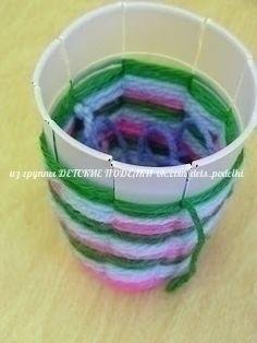 ШЕРСТЯНЫЕ ВАЗОЧКИ Отличная идея для фантазирования и создания неповторимых ярких карандашниц и ваз!