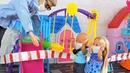 КАТЯ И МАКС ВЕСЕЛАЯ СЕМЕЙКА СИДИМДОМА МУЛЬТИКИ С КУКЛАМИ БАРБИ Видео с игрушками для детей