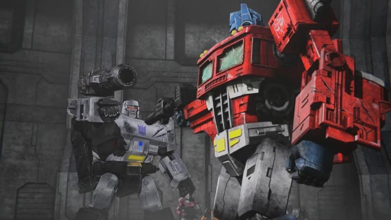 Трансформеры Война за Кибертрон Восход Земли 4 серия с русскими субтитрами