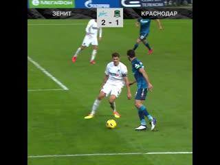 2-1 Артем Дзюба 79' Зенит - Краснодар