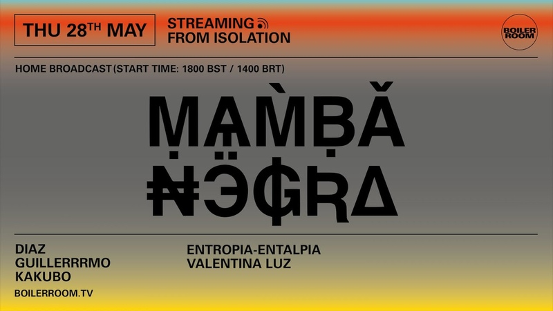 Diaz Boiler Room Streaming From Isolation with Mamba Negra