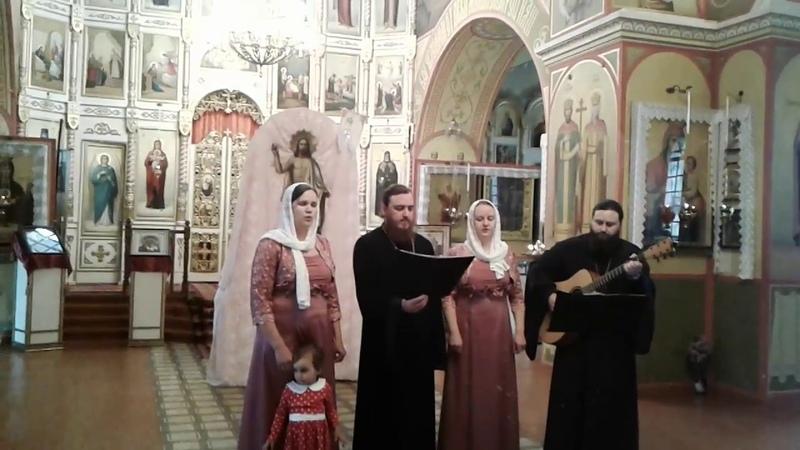 Пасхальный концерт в г. Острогожске