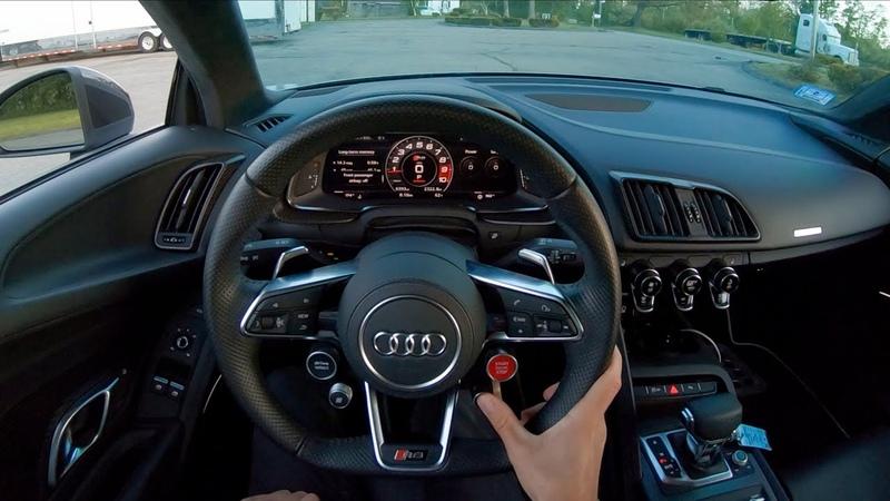 2017 Audi R8 V10 Plus - Sunset POV Test Drive by Tedward (Binaural Audio)