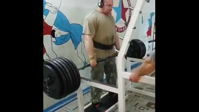 Тяга с виса 290 кг блины СССР