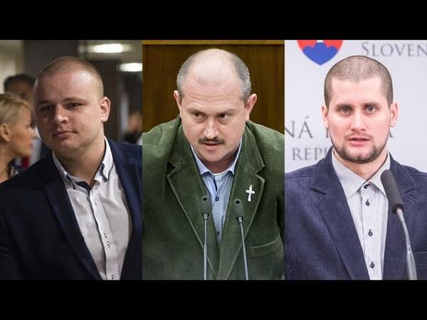 Poslanci ĽS Naše Slovensko reagujú na demokrata Šefčíka z OĽaNO 4 schôdza 2 4 2020
