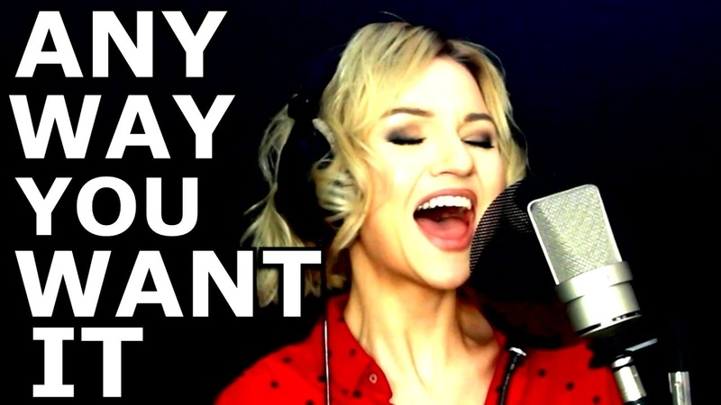 Any Way You Want It - Journey - Alyona Yarushina - Ken Tamplin Vocal Academy