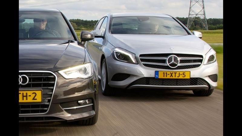 Audi A3 vs Mercedes Benz A klasse English subtitled