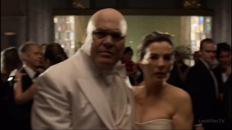 Сорвиголова залетает к Фиску и Меченному на свадьбе Фиска и Ванессы Часть 2