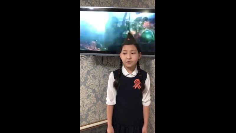 Стихи о войне на День Победы 9 мая С Кадашников Ветер войны Читает Эрмекова Нафиса Военные стихи для школьников